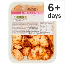 Eastman's Sliced Cooked Chicken Tikka 240G