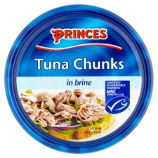 Princes Tuna Chunks In Brine 160G