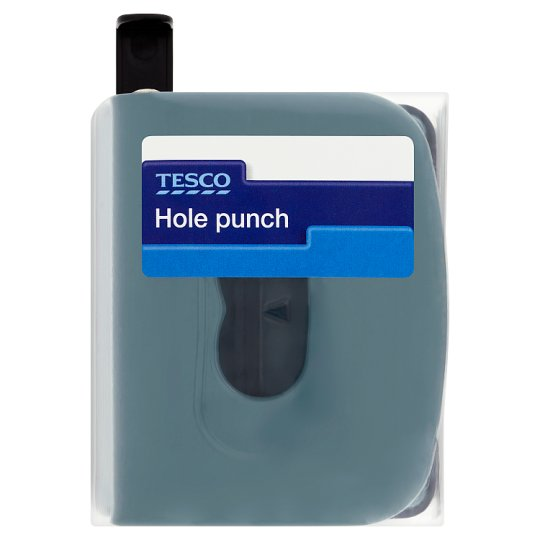 Tesco Office Metal 2 Hole Punch
