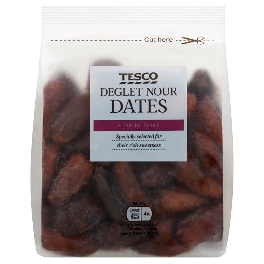 Tesco Wholefood Stoned Dates 450G