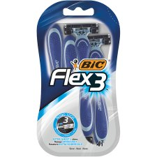 Bic Flex3 Triple Blade Razors 4 Pack
