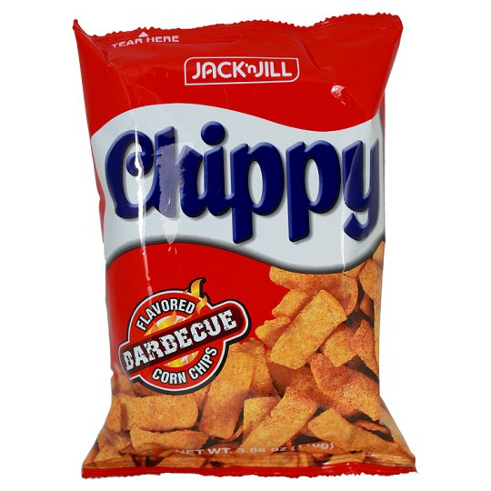Jack And Jill Chippy Bbq Corn Chips Snack 110G