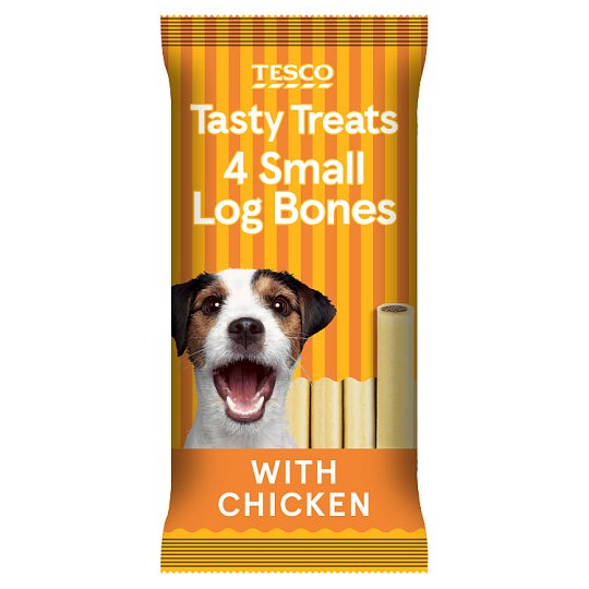 Tesco Filled Small Bones Chicken Chews 180G