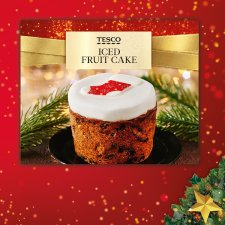 Tesco Iced Fruit Cake