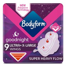 Bodyform Ultra Night Extra 9 Pack