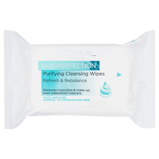 L'oreal Dermo-Expertise Ideal Balance Cleansing Wipes 25
