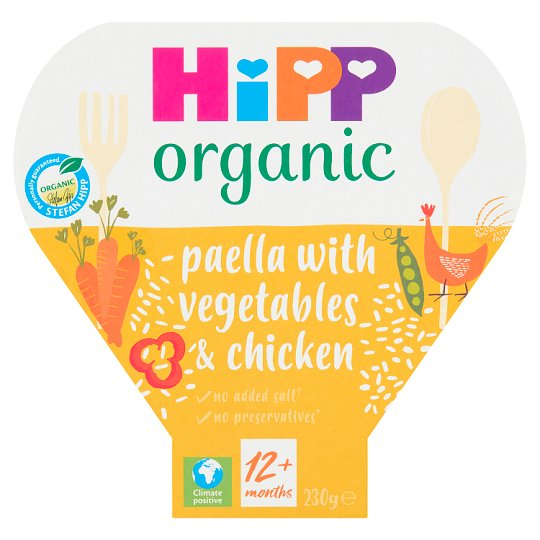 Hipp Organic Paella With Mixed Vegetable And Chicken 230G