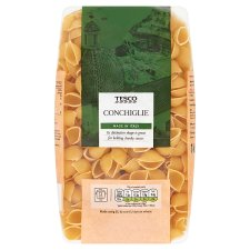 Tesco Conchiglie Pasta Shells 1Kg