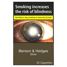 Benson And Hedges Silver King Size 20 Pack