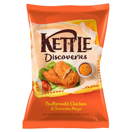 Kettle Discoveries Buttermilk Chicken Crisps 130G