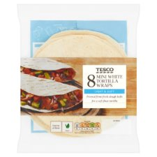 Tesco Plain Mini Tortillas 8 Pack