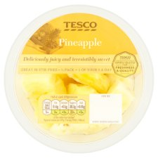 Tesco Pineapple Chunks 400G