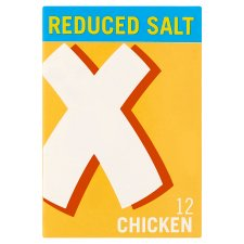 Oxo Reduced Salt Cube Chicken 12 Pack 71G