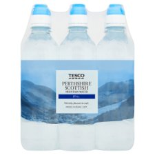 Tesco Perthshire Still Water 6X500ml Sport