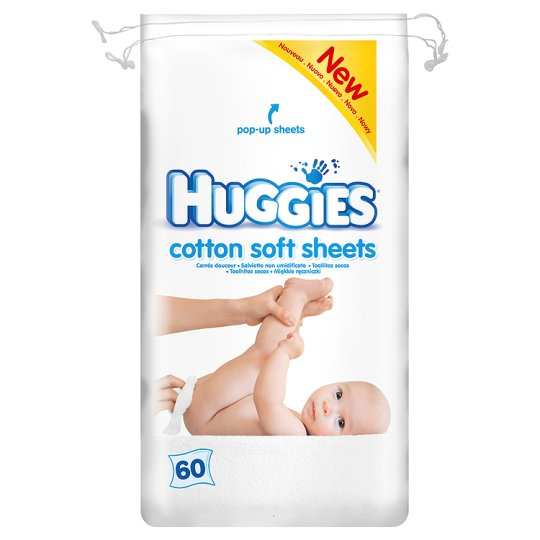 Huggies Dry Clean Cotton Sheets 60