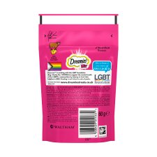 Dreamies Mix Beef And Cheese Cat Treats 60G