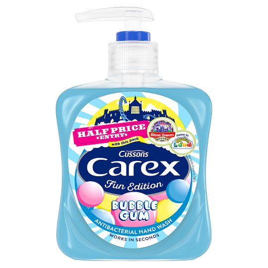 Carex Kids Handwash Bubblegum 250Ml