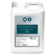 Tesco De-Ionised Water 2.5L