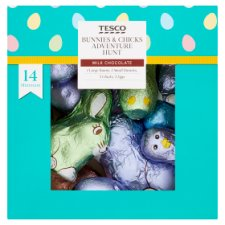 Tesco Bunny And Chick Adventure Hunt 475G
