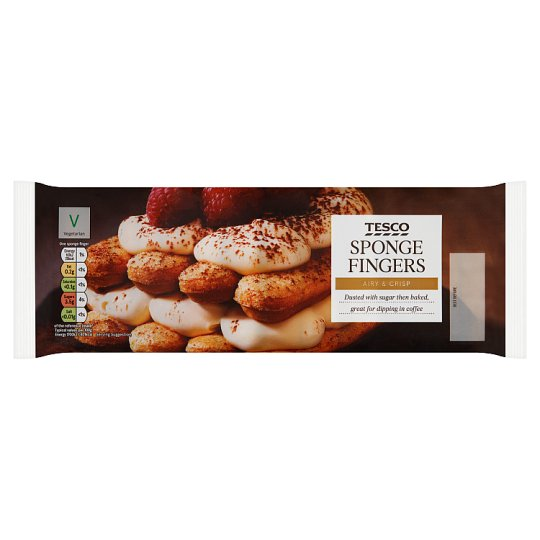 Tesco Sponge Fingers 200G