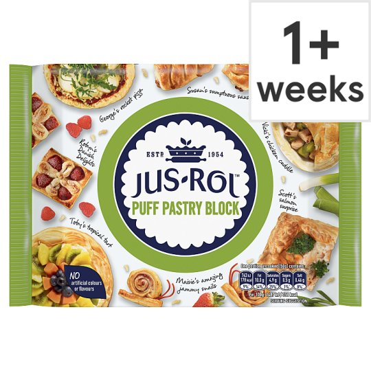 Jus Rol Pastry Jus-rol Puff Pastry Block 500g