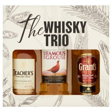 The Whisky Trio Selection Gift Set