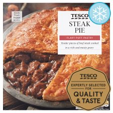 Tesco Steak Pie 700G