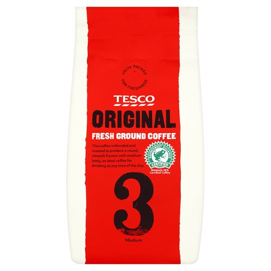 Tesco Original Blend Ground Coffee 227G