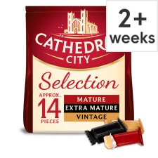 Cathedral City Mini Cheddar Cheese Selection 14 Pack, 168 G