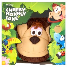 Cheeky Monkey St Birthday Cake