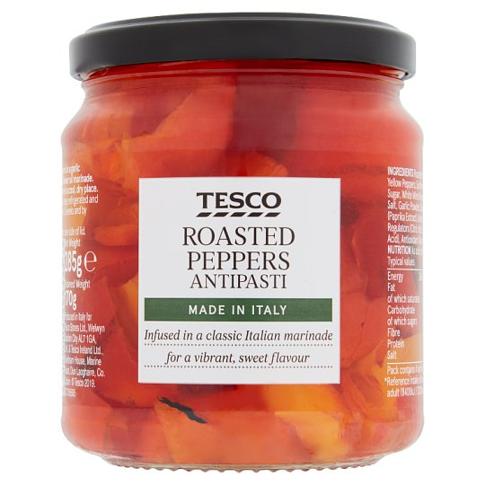 Tesco Chargrilled Peppers 285G