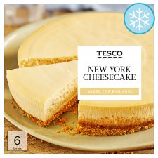 Tesco New York Cheesecake 450G