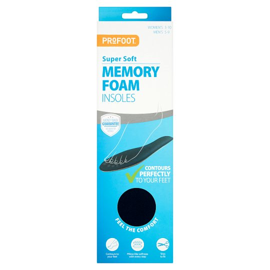 Profoot Memory Foam Insoles One Size
