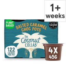 Coconut Collaborative Dairy Free Salted Caramel 4X45g