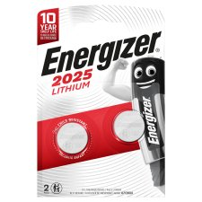 Energizer Cr2025 2 Pack