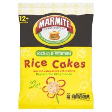Marmite Toddler Rice Cake 40G