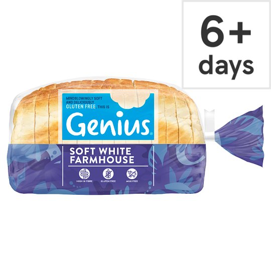 Genius Sliced White Bread 535G
