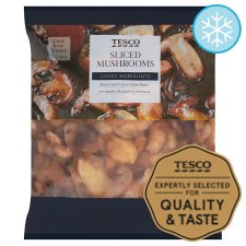 Tesco Sliced Mushrooms 500G