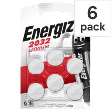 Energizer Cr2032 6 Pack