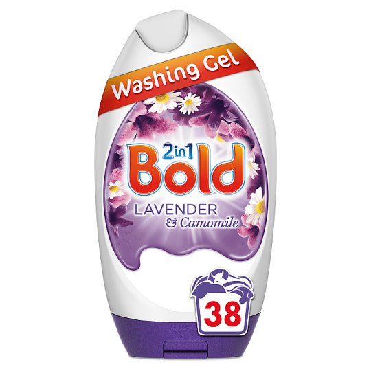 Bold 2 In1 Lavender And Chamomile Washing Gel1.41L Washes