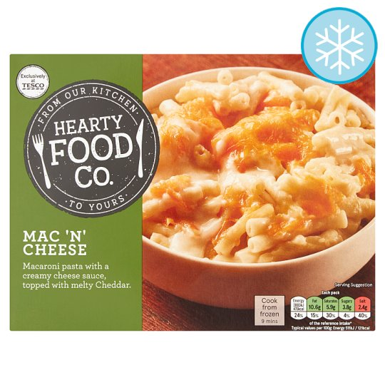 Hearty Food Co Mac 'N' Cheese 400G
