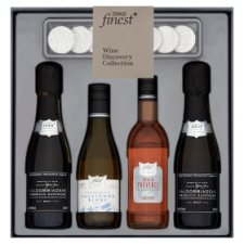 Tesco Finest Wine Selection And Chocolate Set