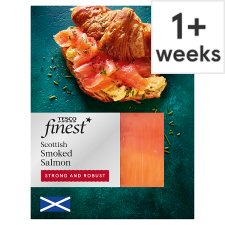 Tesco Finest Scottish Smoked Salmon 60G