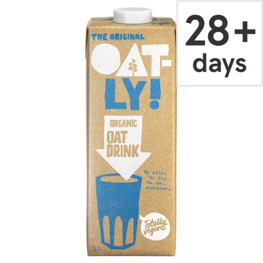 Oatly Organic Longlife Milk Alternative 1 Litre