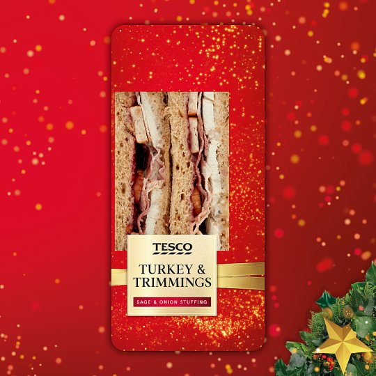 Tesco Turkey And Trimmings Sandwich