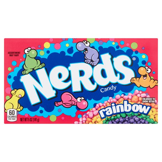 Wonka Rainbow Nerds Theatre Box 141.7G