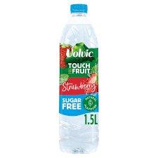 Volvic Touch Of Fruit Strawberry Sugar Free 1.5 Litre