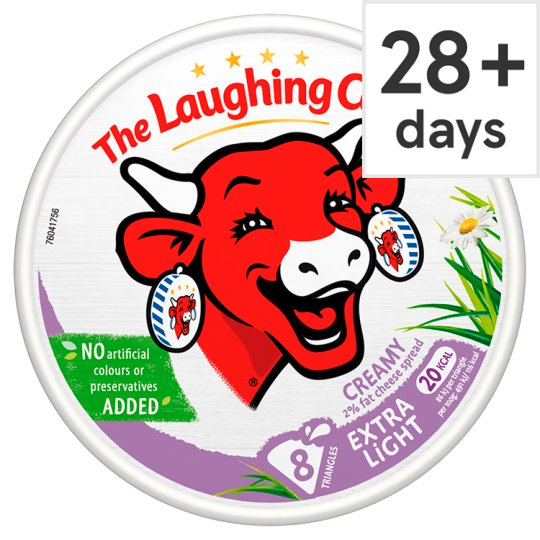 The Laughing Cow Extra Light Cheese Triangles 140 G
