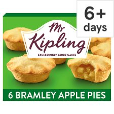 Mr Kipling Bramley Apple Pies 6 Pack