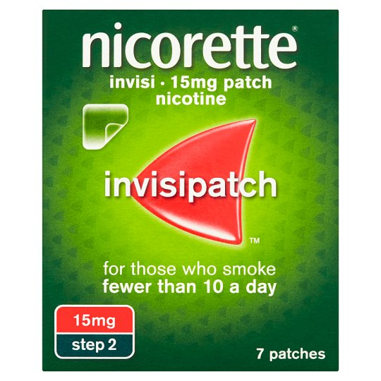 image 1 of Nicorette Invisible Patch Step 2 15Mg 7S